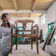 Tableros curvados para artesanos del mueble